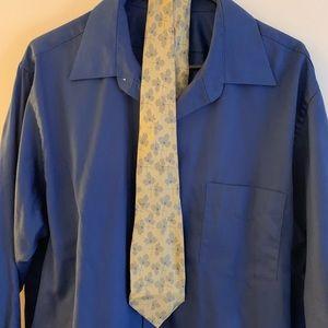 Valentino Tie and VanHeusen Shirt.